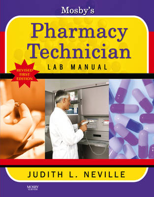 Mosby's Pharmacy Technician Lab Manual Revised Reprint (Paperback)