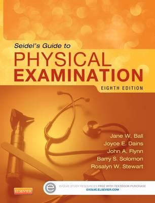 Seidel's Guide to Physical Examination (Hardback)