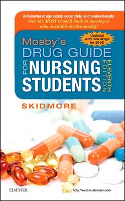 Mosby's Drug Guide for Nursing Students, with 2016 Update (Paperback)