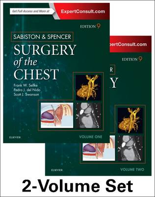 Sabiston and Spencer Surgery of the Chest: 2-Volume Set (Hardback)