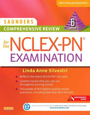 Saunders Comprehensive Review for the NCLEX-PN Examination (Paperback)