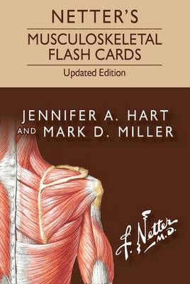 Netter's Musculoskeletal Flash Cards Updated Edition - Netter Basic Science
