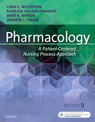 Pharmacology: A Patient-Centered Nursing Process Approach (Paperback)