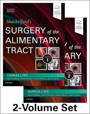 Shackelford's Surgery of the Alimentary Tract, 2 Volume Set (Hardback)