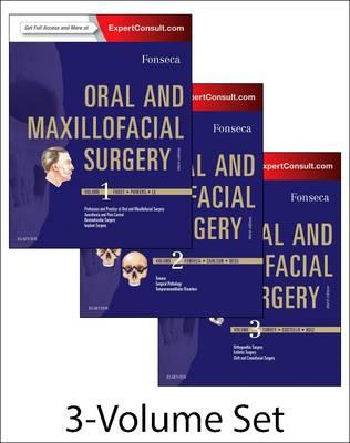 Oral and Maxillofacial Surgery: 3-Volume Set (Hardback)