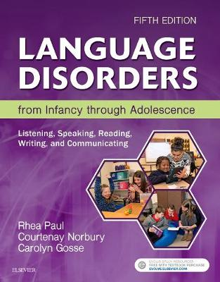 Language Disorders from Infancy through Adolescence: Listening, Speaking, Reading, Writing, and Communicating (Hardback)
