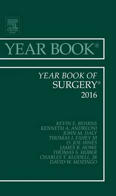 Year Book of Surgery - Year Books 2016 (Hardback)