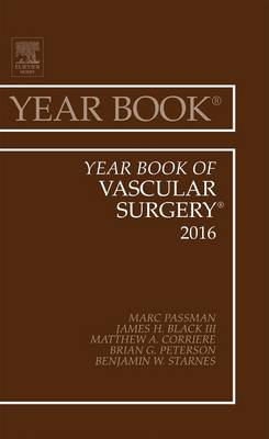 Year Book of Vascular Surgery - Year Books 2016 (Hardback)