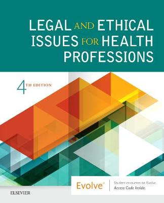 Legal and Ethical Issues for Health Professions (Paperback)
