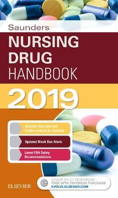 Saunders Nursing Drug Handbook 2019 (Paperback)