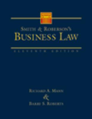 Smith and Roberson's Business Law (Hardback)