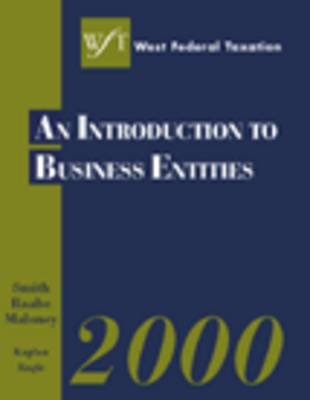 West's Federal Taxation 2000: Business Entities (Hardback)