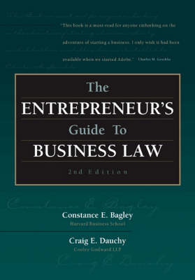 The Entrepreneur's Guide to Business Law (Paperback)