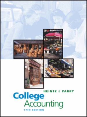 College Accounting: Chapters 1-29 (Paperback)