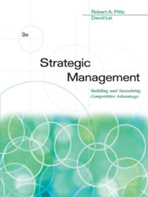 Strategic Management: Building and Sustaining Competitive Advantage (Paperback)