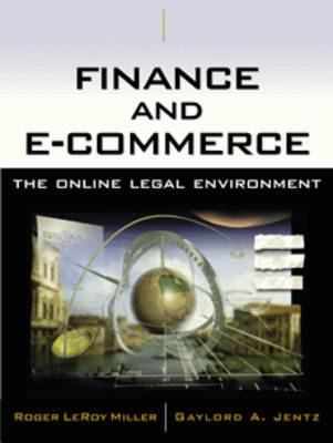 Finance and e-Commerce: The Online Legal Environment (Hardback)