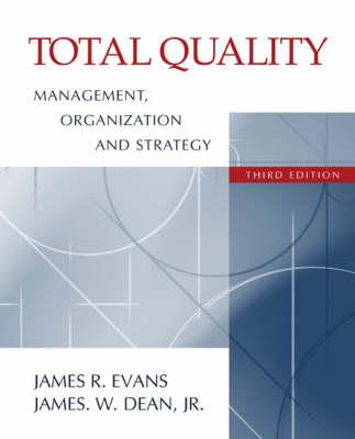 Total Quality Management (Hardback)
