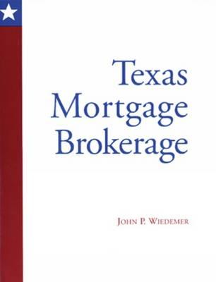 Texas Mortgage Brokerage (Paperback)