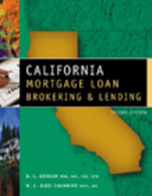 California Mortgage Loan Brokering and Lending (Paperback)