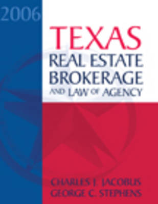 TX RE Broker and Law of Agency (Hardback)