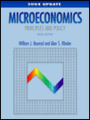 Microeconomics: Principles and Policy (Paperback)