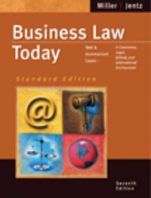 Business Law Today: Standard Legal (Hardback)