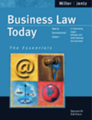 Business Law Today Essential (Paperback)