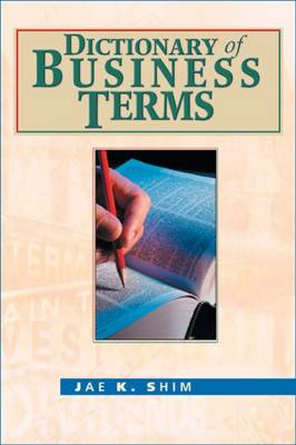 Dictionary of Business Terms (Hardback)