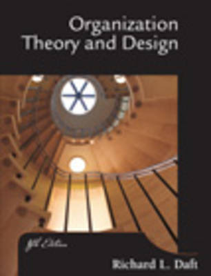 Organization Theory and Design (Paperback)