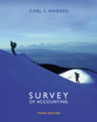 Survey of Accounting (Book)