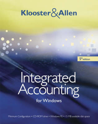 Integrated Accounting for Win (Book)