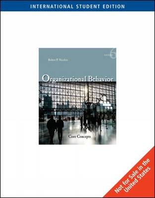 Organizational Behavior: Core Concepts (Paperback)