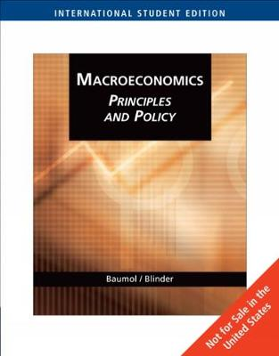 Macroeconomics: Principles and Policy, International Edition (Paperback)