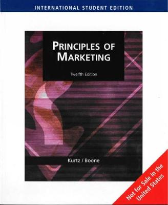 Principles of Marketing (AISE) (Paperback)
