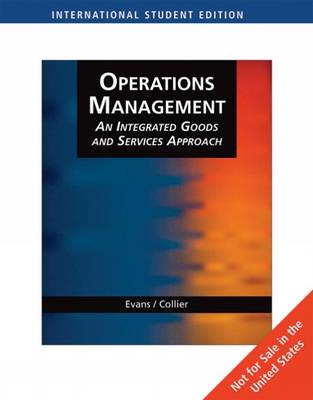Operations Management: Integrated Goods & Services Approach,(with Student CD-ROM and Microsoft Project) (Paperback)