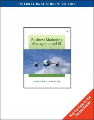 Business Marketing Management: B2B, International Edition (Paperback)