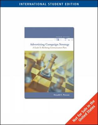 Advertising Campaign Strategy: A Guide to Marketing Communication Plans (Paperback)