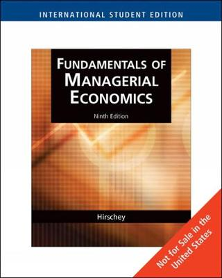 Fundamentals of Managerial Economics, International Edition (with InfoApps 2-Semester) (Paperback)