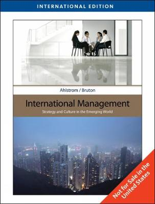 International Management, International Edition (Paperback)