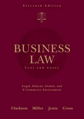 Business Law: Text and Cases (Hardback)