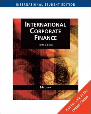 International Corporate Finance: With World Map (Paperback)