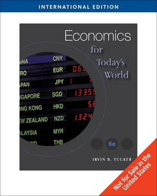 Economics for Today's World (Paperback)