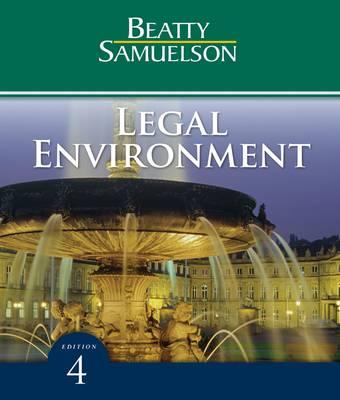 Legal Environment (Hardback)