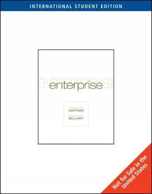 Enterprise!, International Edition (with Bind-In Printed Access Card) (Paperback)