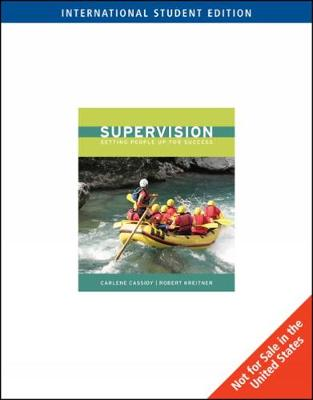 Supervision, International Edition (Paperback)
