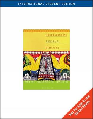 Understanding Abnormal Behavior, International Edition (Paperback)