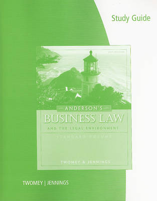 Anderson's Business Law and the Legal Environment (Paperback)