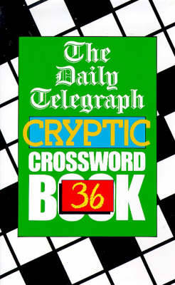 The Daily Telegraph Cryptic Crossword Book 36 (Paperback)