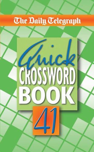 Daily Telegraph Quick Crossword Book 41 (Paperback)
