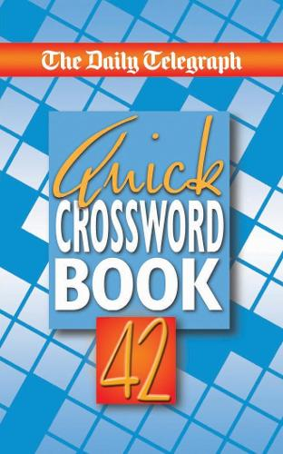The Daily Telegraph Quick Crossword Book 42 (Paperback)